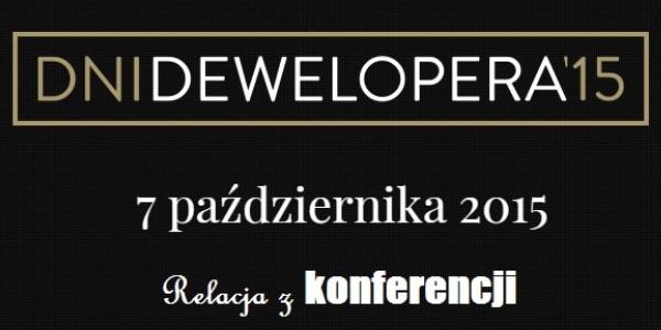 Dni Dewelopera 2015